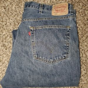 """Levi's 550 relaxed fit 44""""32"""" men's jeans"""